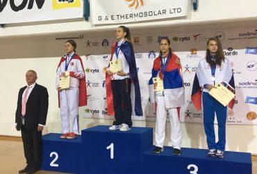 Aleksandra Perisic - EJP 2017 - 3. mesto